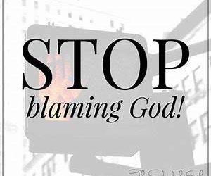 God's Fault?